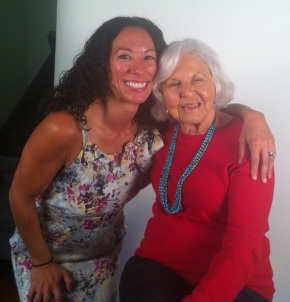 Julia and Deborah Szekely after our interview